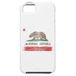 Bandera apenada de la república de California iPhone 5 Case-Mate Funda