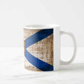 Bandera apenada de Nueva Escocia Taza