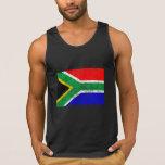 Bandera apenada de Suráfrica