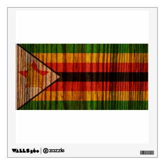 Bandera apenada de Zimbabwe