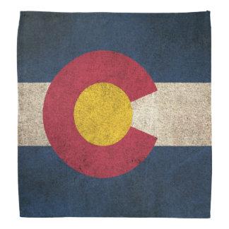 Bandera apenada vintage de Colorado Bandanas