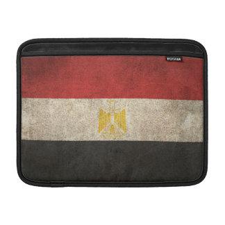 Bandera apenada vintage de Egipto Fundas Macbook Air