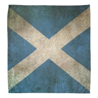 Bandera apenada vintage de Escocia Bandana