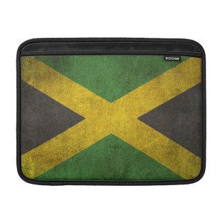 Bandera apenada vintage de Jamaica Funda Para Macbook Air