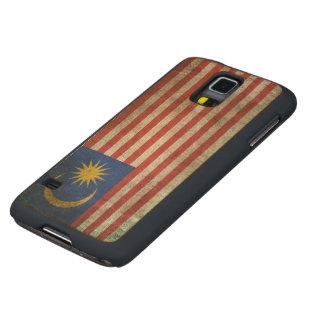 Bandera apenada vintage de Malasia Funda De Galaxy S5 Slim Arce