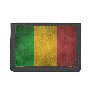 Bandera apenada vintage de Malí