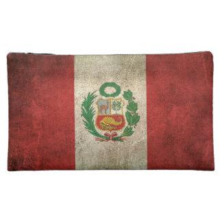 Bandera apenada vintage de Perú