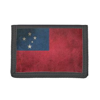 Bandera apenada vintage de Samoa