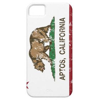Bandera Aptos de la república de California iPhone 5 Case-Mate Cárcasa