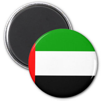 Bandera árabe de los emiratos iman de nevera