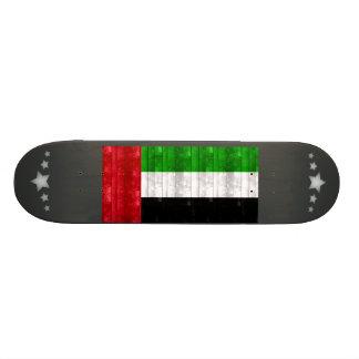 Bandera árabe de madera monopatin