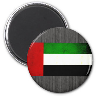 Bandera árabe nerviosa moderna imanes de nevera