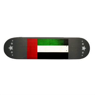 Bandera árabe nerviosa moderna monopatin personalizado