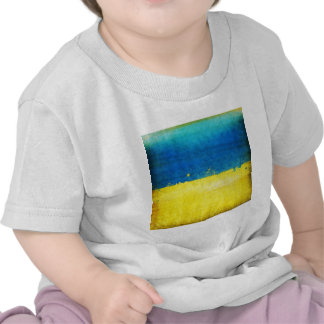 Bandera arenosa de Ucrania Camiseta