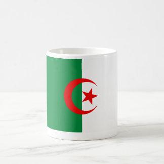 Bandera argelina taza de café