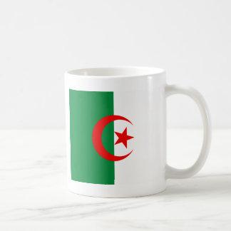 Bandera argelina tazas de café