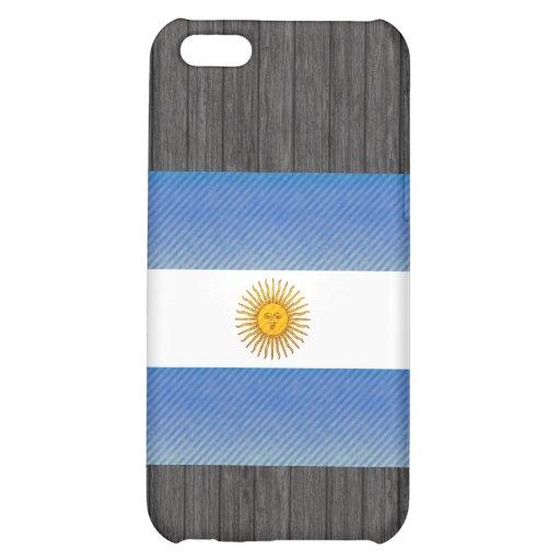 Bandera argentina pelada moderna