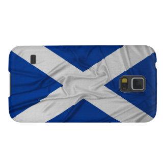 Bandera arrugada de Escocia Funda Galaxy S5