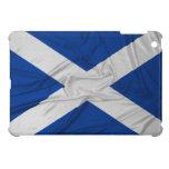 Bandera arrugada de Escocia iPad Mini Protectores