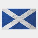 Bandera arrugada de Escocia Rectangular Altavoz