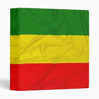 "Bandera arrugada de Rastafarian Carpeta 1"""