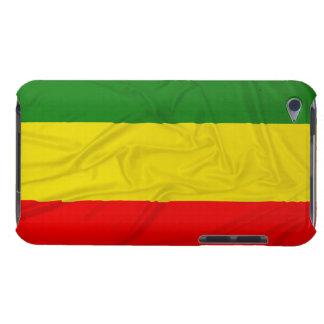 Bandera arrugada de Rastafarian iPod Touch Carcasa