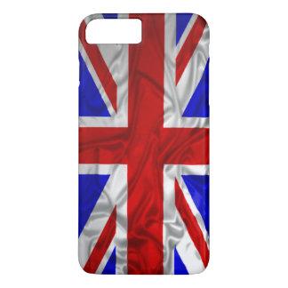Bandera arrugada de Union Jack Funda iPhone 7 Plus