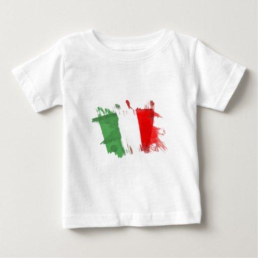 Bandera artística de Italia - diseño adaptable T-shirts