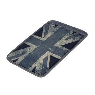 Bandera artística de Reino Unido del Grunge del vi Funda Para Macbook Air