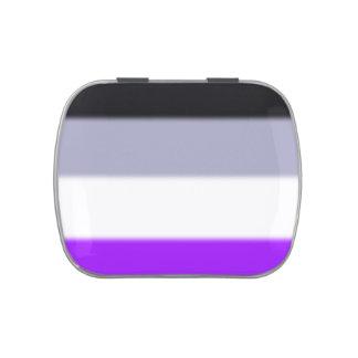 Bandera asexual del orgullo de Falln Latas De Dulces