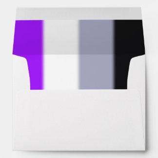 Bandera asexual del orgullo de Falln Sobres