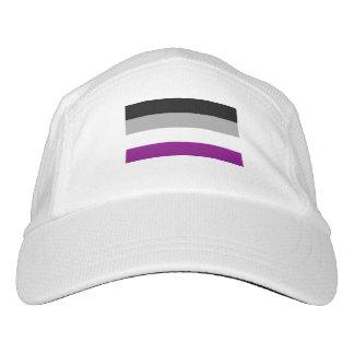 Bandera asexual del orgullo gorra de alto rendimiento