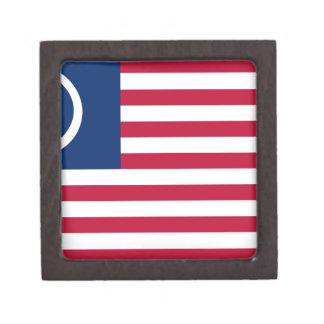 Bandera atea americana caja de regalo de calidad