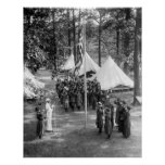 Bandera-Aumento del girl scout: 1919 Impresiones