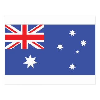 Bandera australiana - Australia Postal