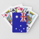 Bandera australiana baraja cartas de poker