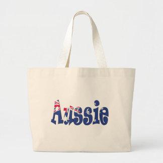 Bandera australiana bolsa tela grande