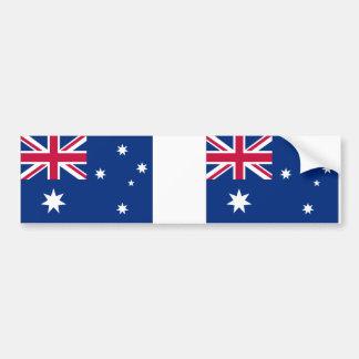 Bandera australiana pegatina de parachoque