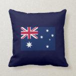 Bandera australiana cojines