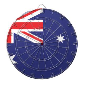 Bandera australiana tablero de dardos