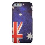 Bandera australiana funda de iPhone 6 barely there