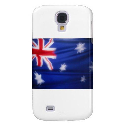 Bandera australiana funda para galaxy s4
