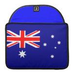 Bandera australiana fundas macbook pro
