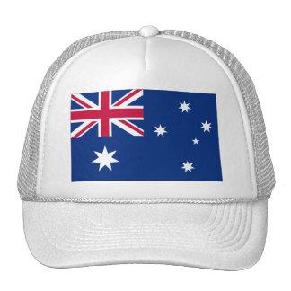 Bandera australiana gorro