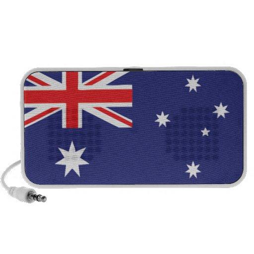 Bandera australiana iPhone altavoz