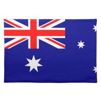 Bandera australiana MoJo Placemat Mantel Individual
