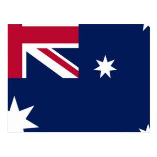 Bandera australiana postal