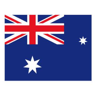 Bandera australiana postales