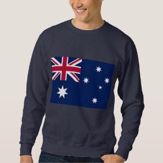 Bandera australiana sudadera