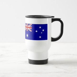 Bandera australiana taza de viaje